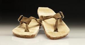Chop Flops, flip flops made of recycled chopsticks designed by Industrial Design student Joe Palmer