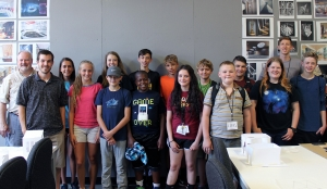 Design Camp Participants with Instructors